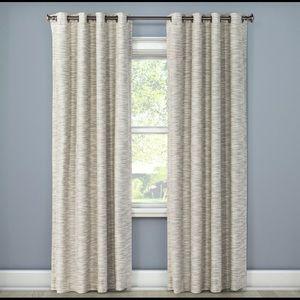 Eclipse Tara Stripe Blackout Curtain Panels